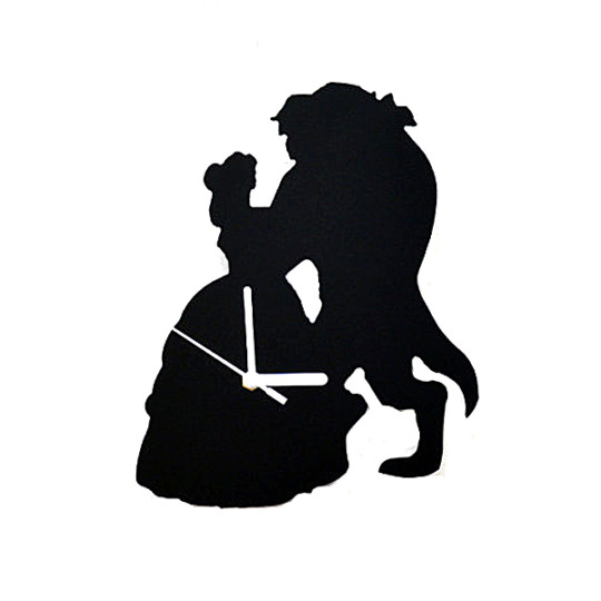 540x540 Beauty And The Beast Silhouette