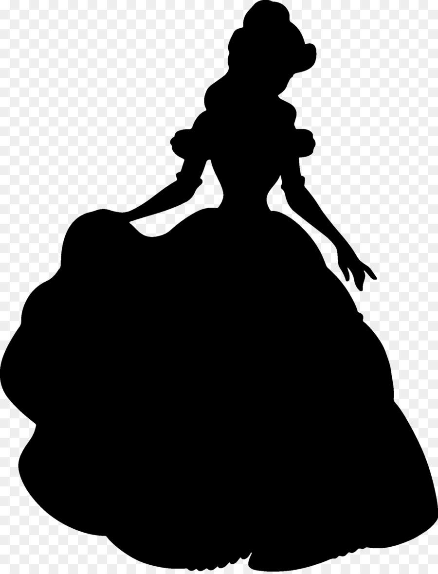 900x1180 Belle Beast Silhouette Disney Princess Clip Art