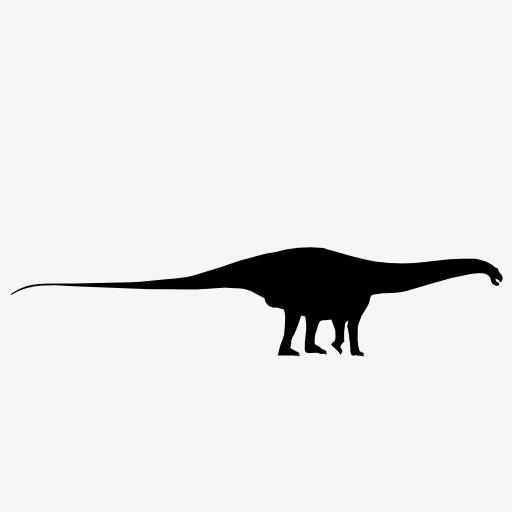 512x512 Dinosaur Silhouette, Beast, Wild Beast, Animal Png Image