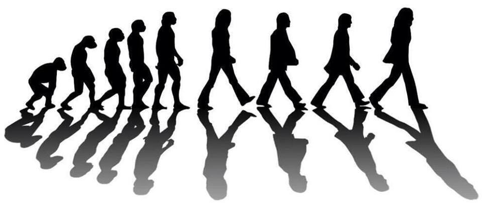 Beatles Abbey Road Silhouette