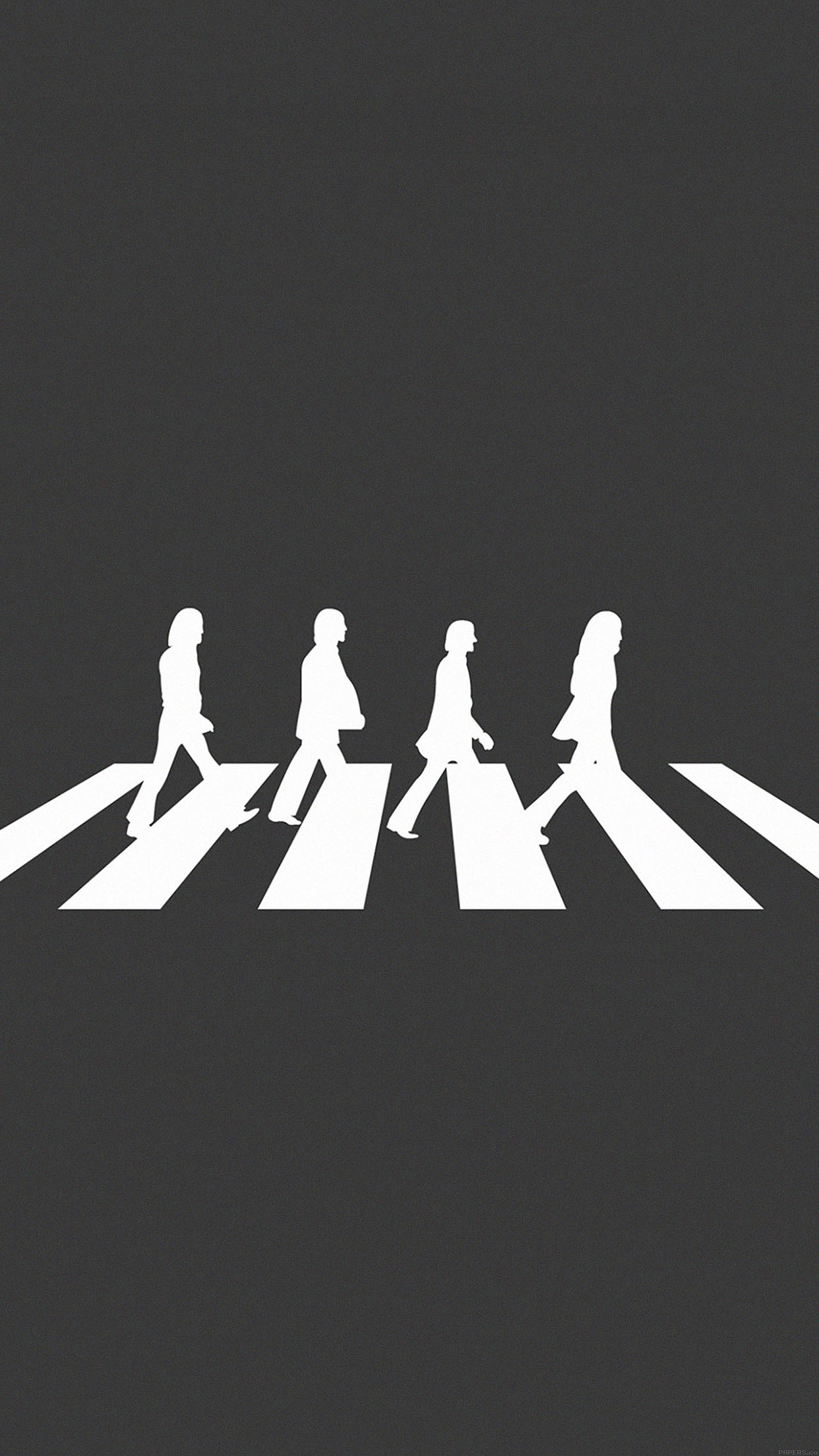 1242x2208 I Love Papers Aa49 Beatles Abbey Road Music Art