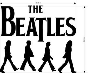 300x251 The Beatles Abbey Road Decal 2 Sticker Wall Art 20 Colors