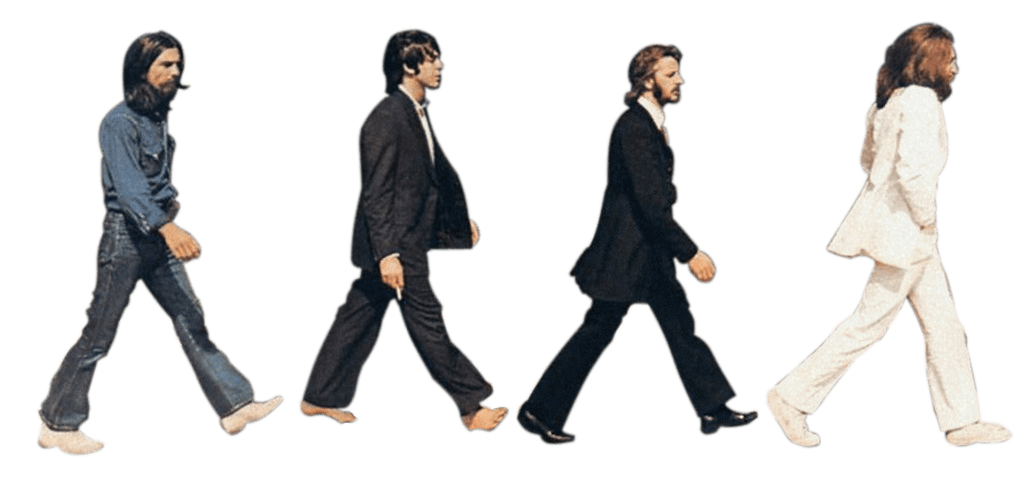 1024x500 The Beatles Abbey Road Transparent Png