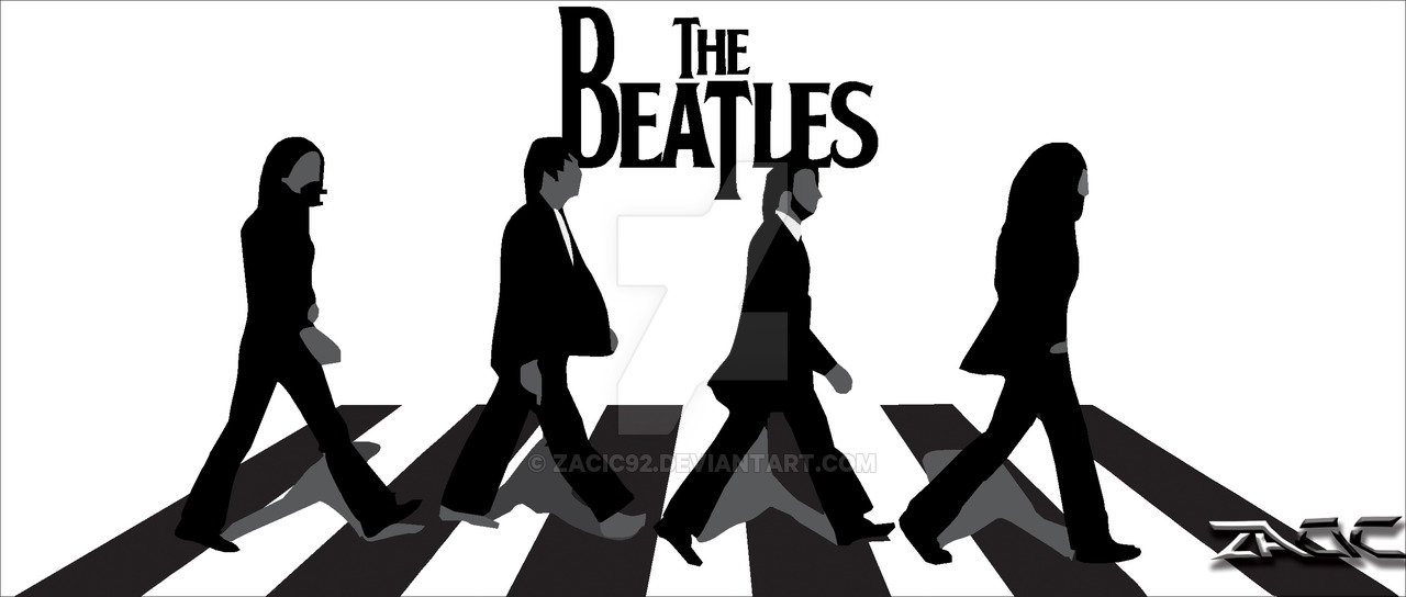 Beatles Abbey Road Silhouette At GetDrawings