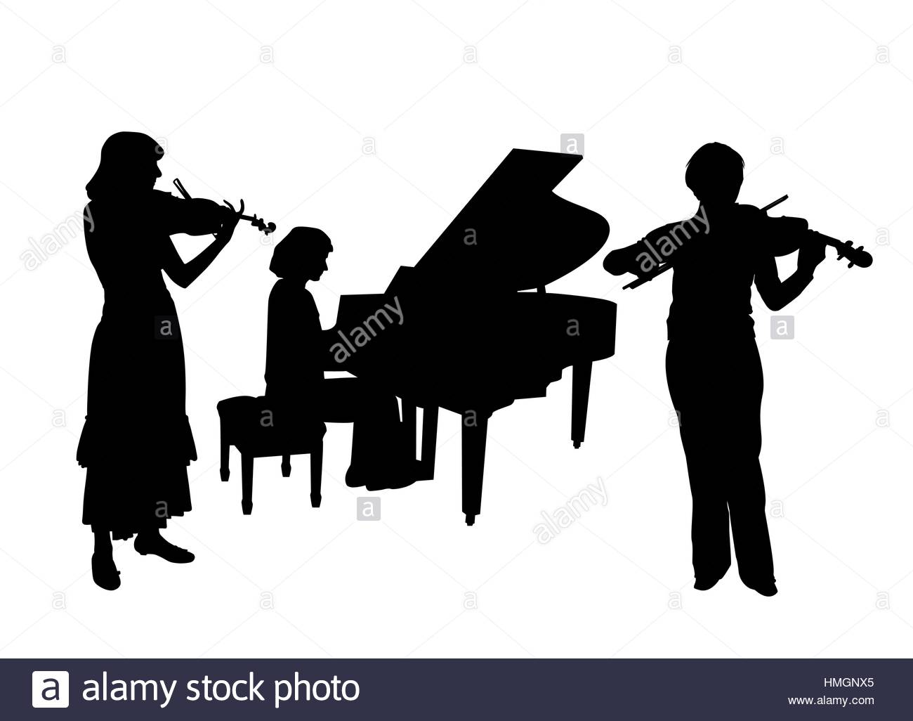 1300x1026 The Vector Musicians Silhouette Stock Photos Amp The Vector