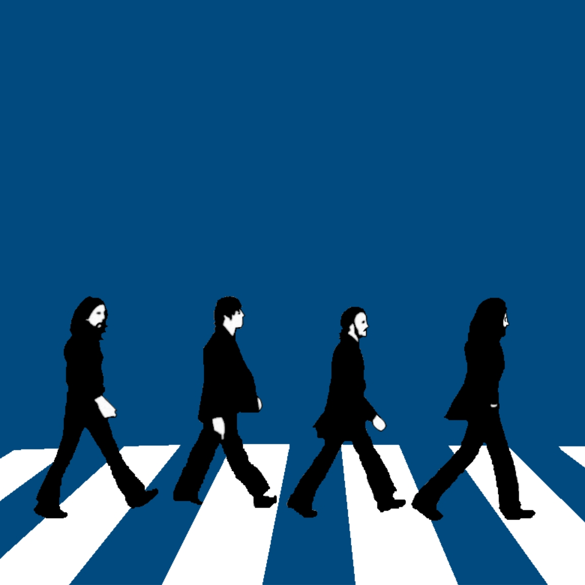 1152x1152 Beatles Clipart Abbey Road