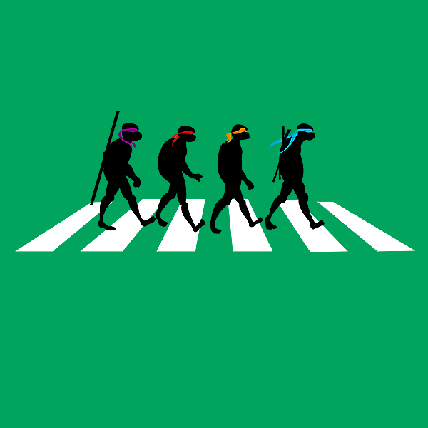 Beatles Silhouette