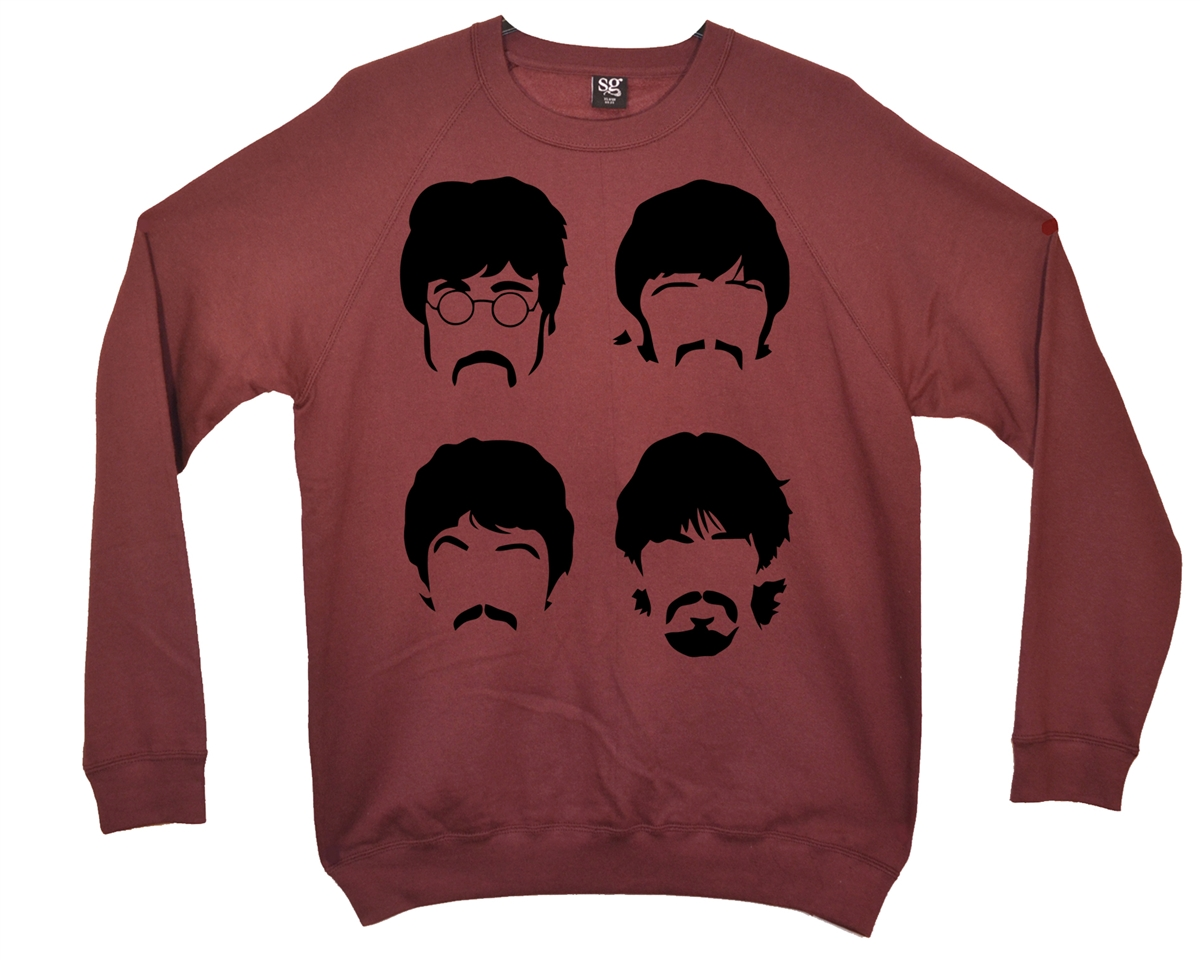 1200x960 The Beatles Silhouette Sweatshirt