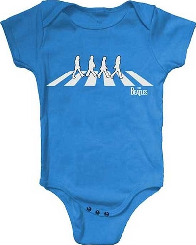 400x500 Beatles Abbey Road Silhouette Baby Romper T Shirt