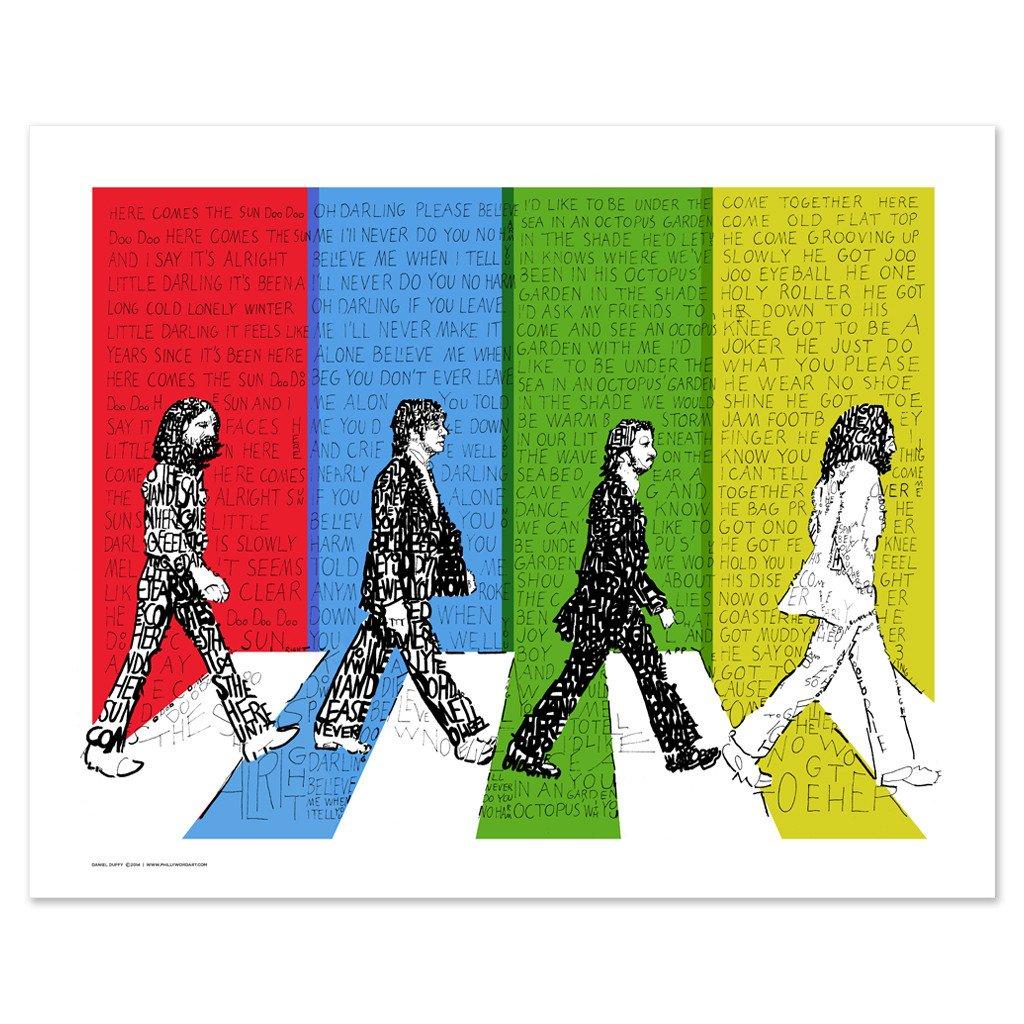 1024x1024 Contemporary Ideas Beatles Wall Art The Beatles Sticker Room Decal