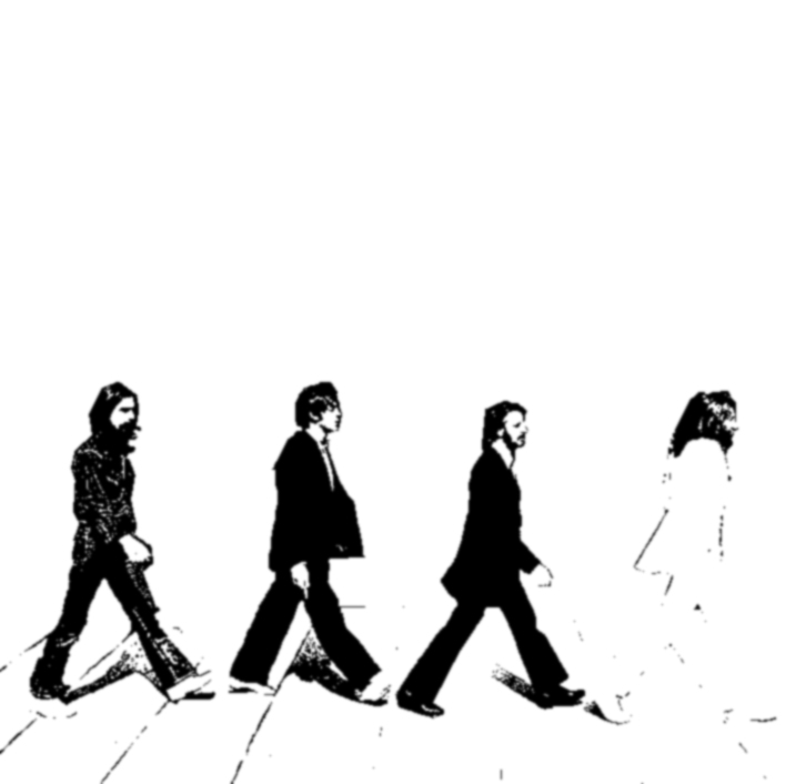 Beatles Silhouette Abbey Road At GetDrawings