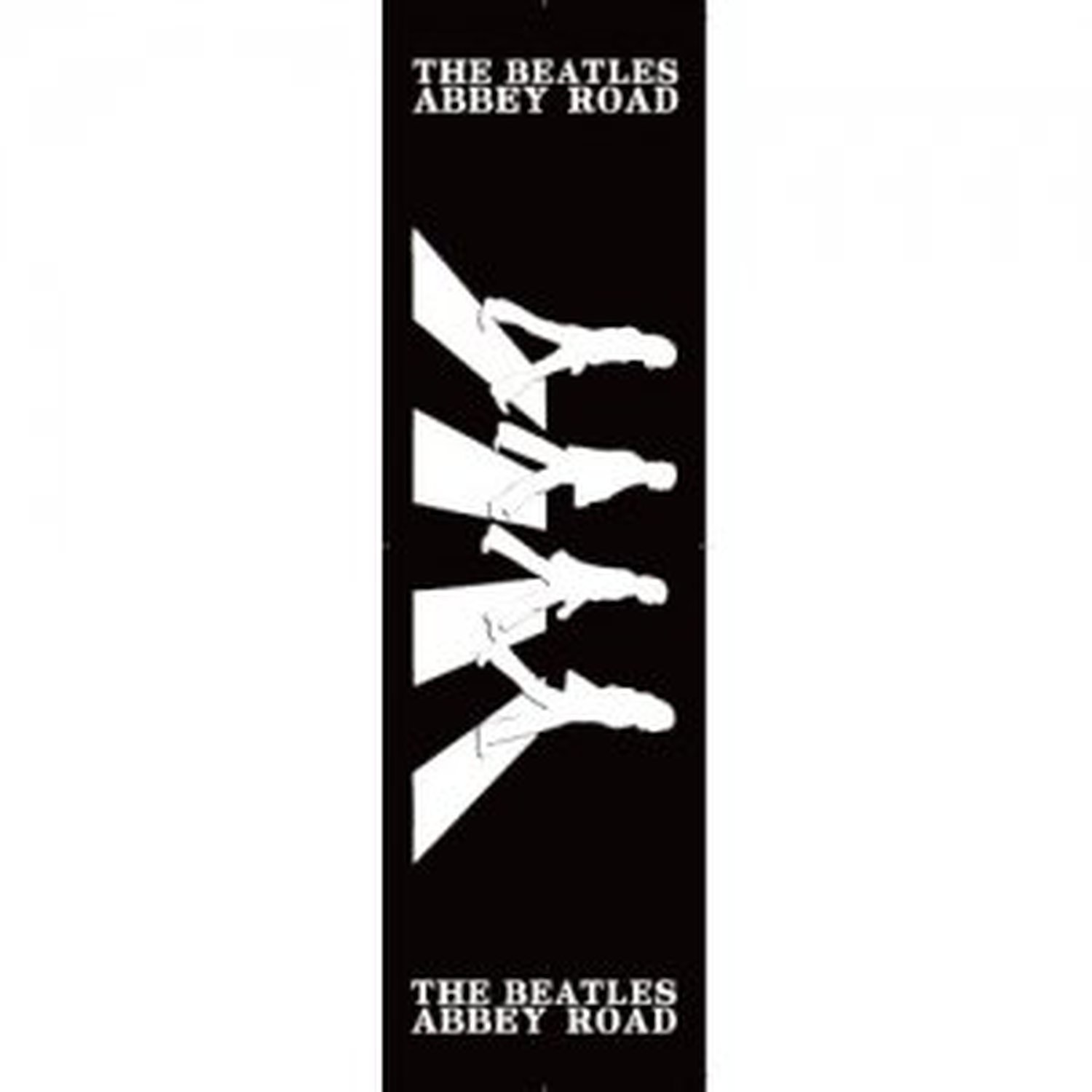 1500x1500 The Beatles Abbey Road Black And White Silhouette Album Cover
