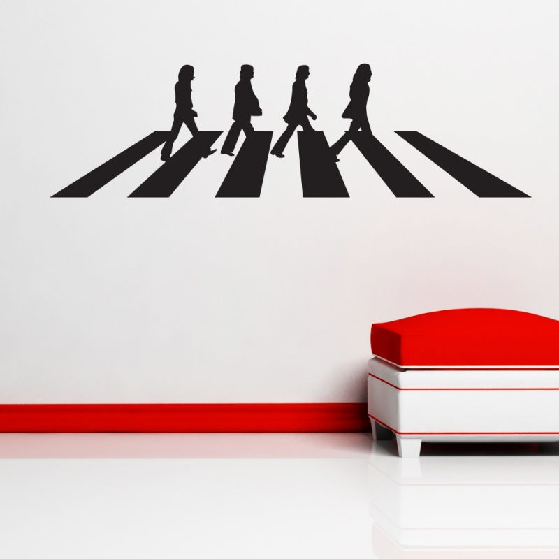 800x800 The Beatles Abbey Road Wall Sticker