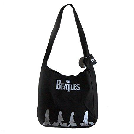 453x453 The Beatles Abbey Road Silhouette Canvas Shoulder Bag