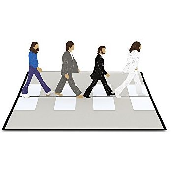 350x350 The Beatles Greeting Birthday Any Occasion Card