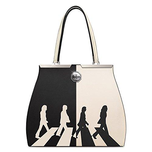 500x500 Beatles Abbey Road Handbag With Color Block Album Art By