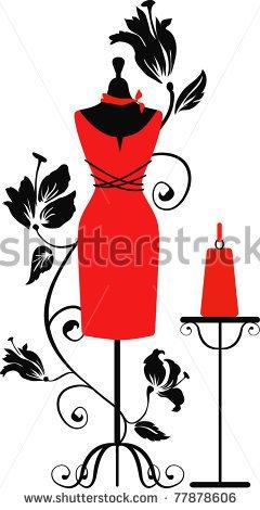 240x470 Eszadesign (Svetlana Zdanchuk) Elegant Silhouette Tailors Dummy