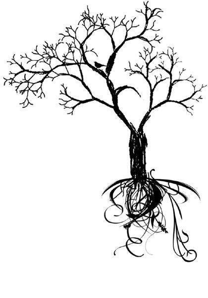 420x600 Beautiful Tree Design