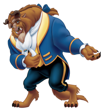 350x381 Beauty And The Beast Characters