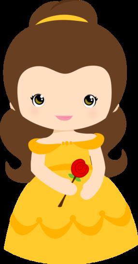 286x545 Adorable ~ Princesse Belle Chibi ~ La Belle Et La