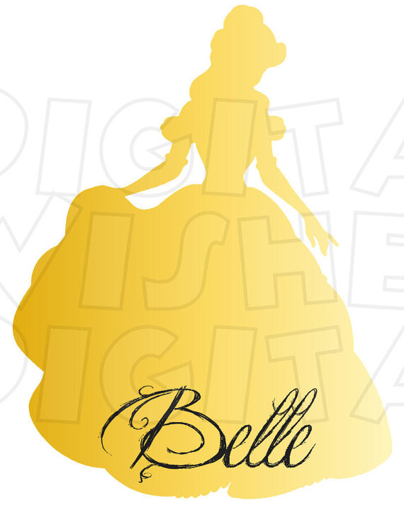 570x713 Suggestions Online Images Of Beauty And The Beast Silhouette