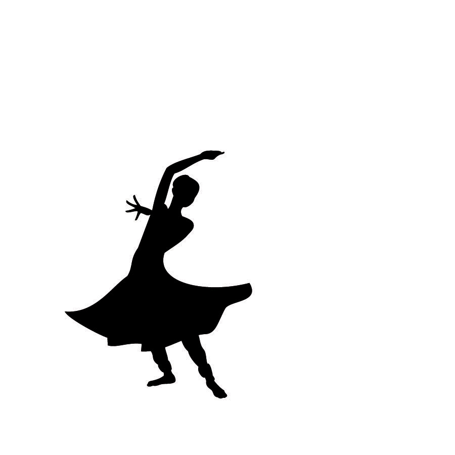 Beauty And The Beast Dancing Silhouette