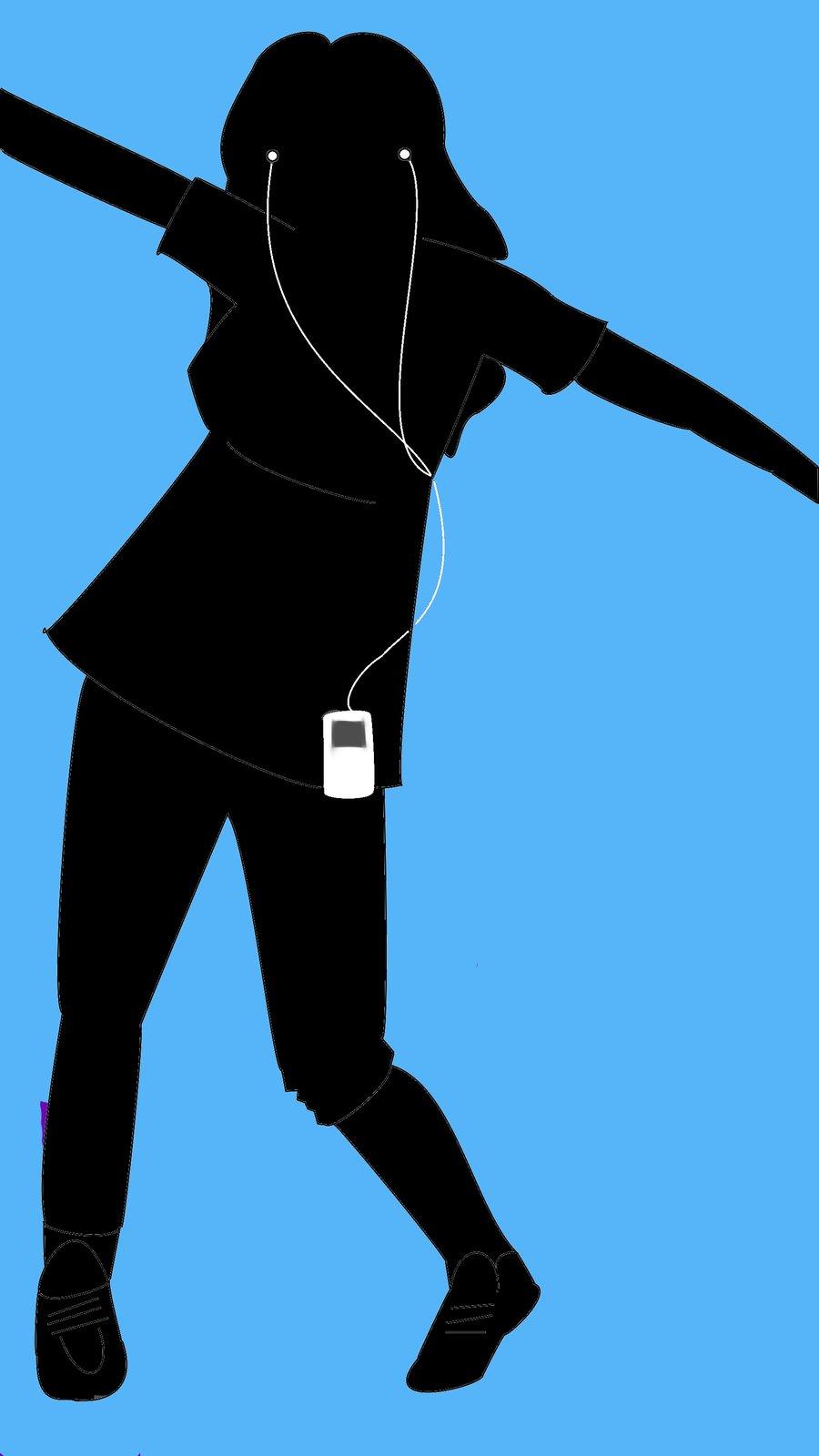 900x1600 Ipod Dance By Mschievous24
