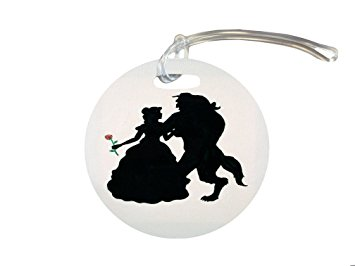 Beauty And The Beast Rose Silhouette