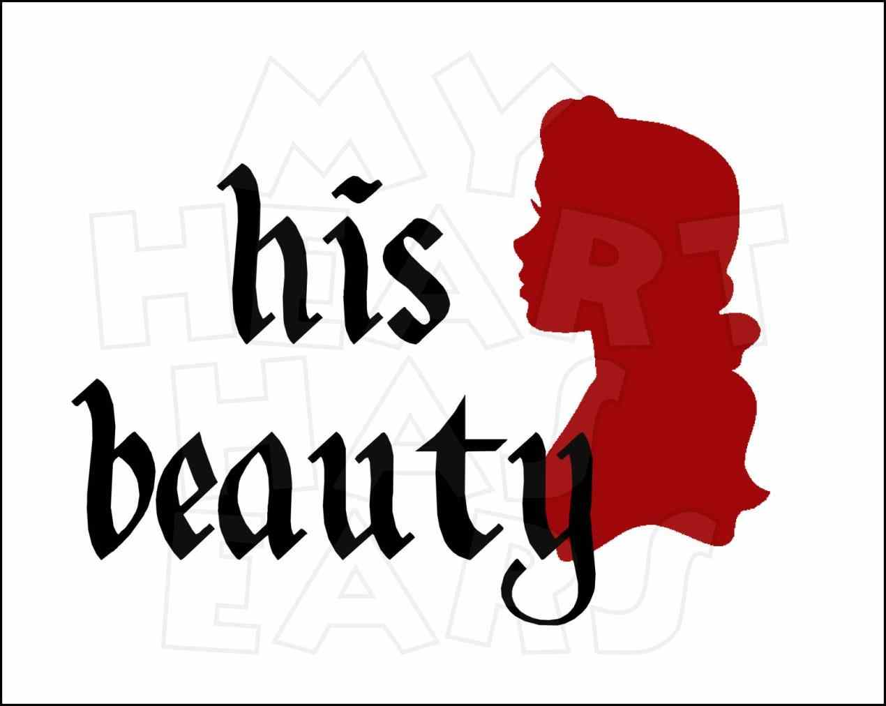 1270x1012 Beauty And The Beast Clipart Silhouette