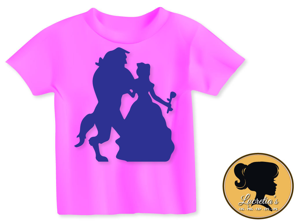 1024x768 Beauty And The Beast Svg, Beauty And The Beast Silhouette, Disney