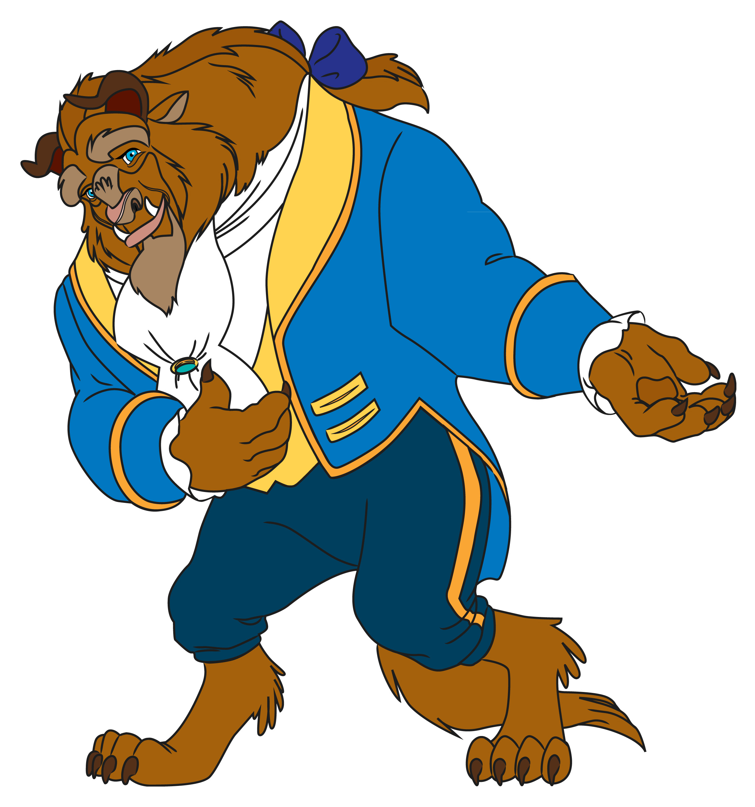 2436x2603 How To Draw The Beast From Beauty And The Beast 9 Steps