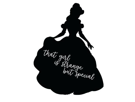 570x428 Beauty And Beast Silhouette In Addition To Beauty And