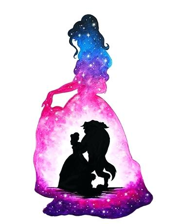 360x461 Beauty And The Beast Silhouette Together With Beauty The Beast