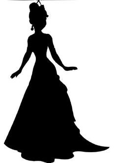 Beauty Queen Silhouette