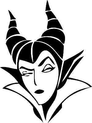 300x400 Maleficent 1 Sleeping Beauty Vinyl Sticker Bad Queen Decal