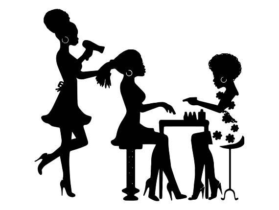 570x429 Black Woman Beauty Salon Nubian Princess Queen Afro Hair