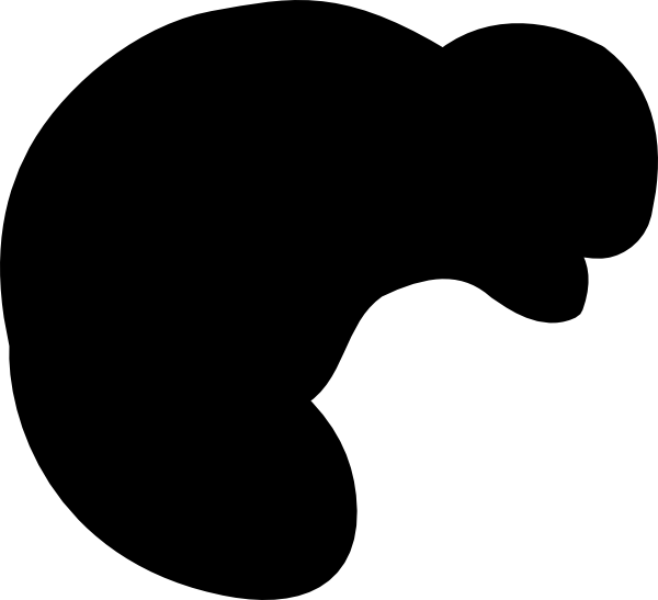 600x547 Beaver Silhouette Clip Art