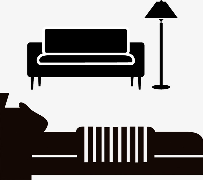 650x576 Silhouette Sofa Bed, Bed, Sofa, Seat Png And Vector For Free Download