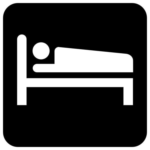 600x600 Bed Clip Art