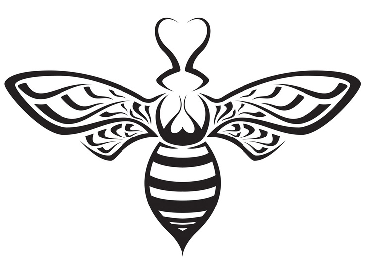 736x552 Honey Bee Silhouette Found On Tattoo But