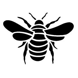 270x270 Bee Stencil D Silhouette Stenciling, Bees And Cricut