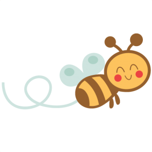 300x300 Miss Kate Cuttables Cute Bee Svgs Bees, Clip Art
