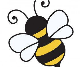280x235 Bee Vector For Free Download