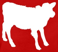 190x170 Young Cow Outline Beef! By Jazzydesignz Spreadshirt