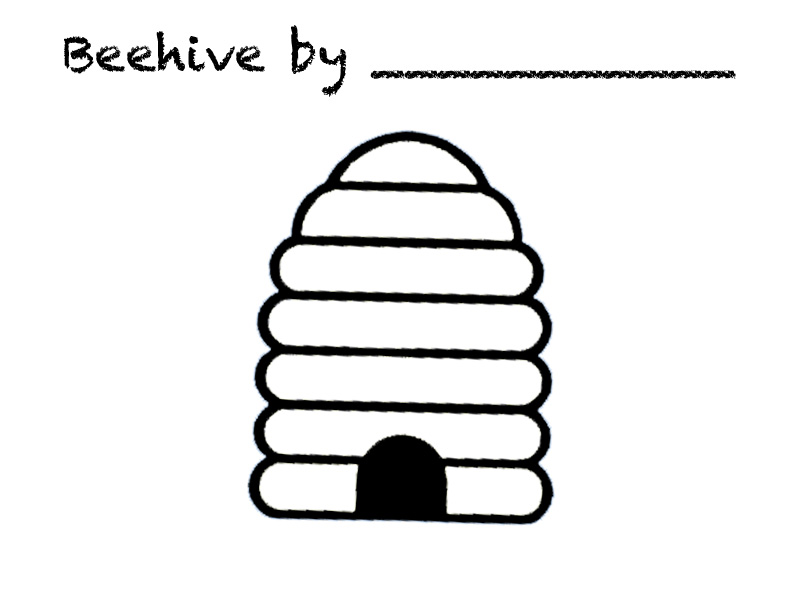 800x600 Bee Hive Clip Art Isolated Beehive Branch Stock