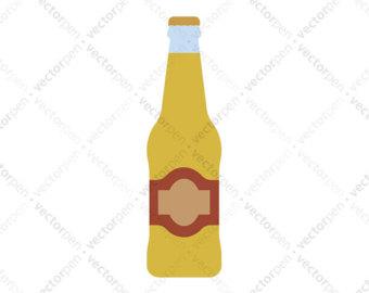 340x270 Beer Bottle Svgalcohol Cliparteer Svgdrink Silhouetteeer