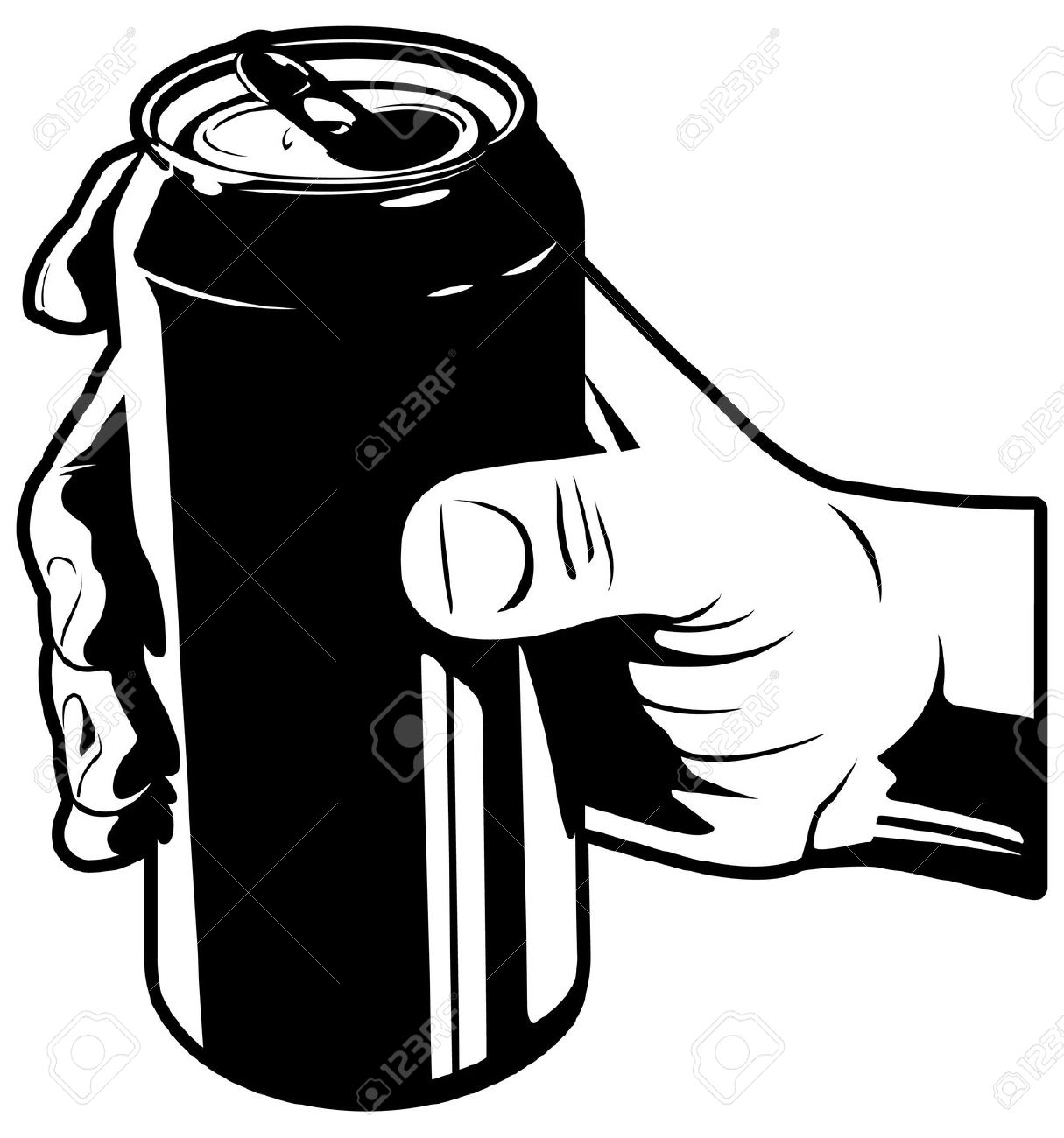1215x1300 Drinking Clipart Beer Can