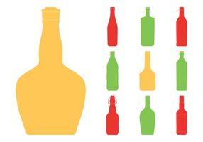 286x200 Beer Bottle Free Vector Art