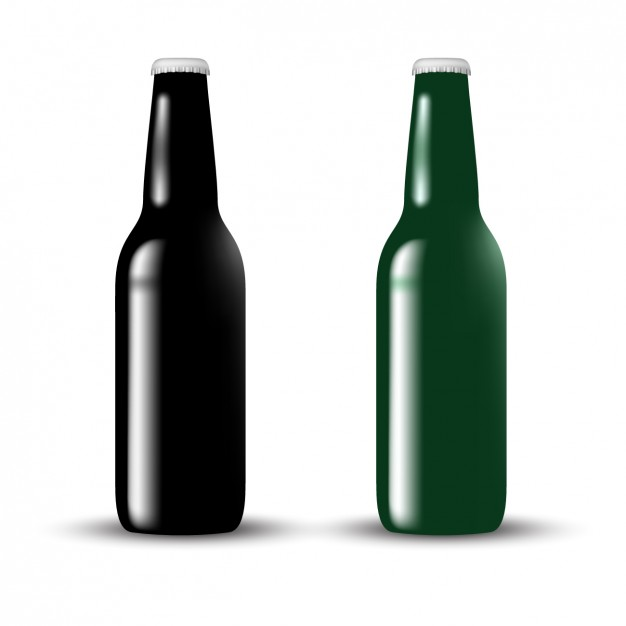 626x626 Glass Bottle Design Vector Free Download