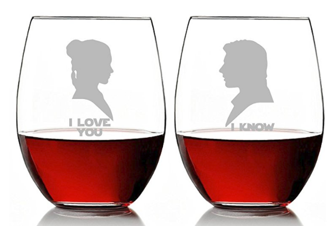 652x445 I Love You And I Know Stemless Wine Glass Set On Amazon